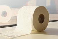 Klopapier für Toilettenpapierhalter